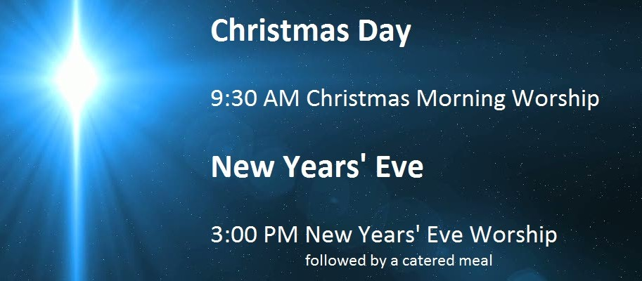 Christmas Day and New Year's Eve