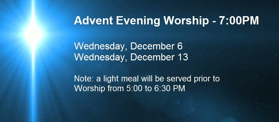 Advent PM Worship